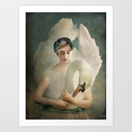 Odette (Swan Lake) Art Print