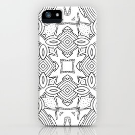 outback lines iPhone Case