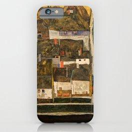 Egon Schiele - Die kleine Stadt IV (Krumau an der Moldau) iPhone Case