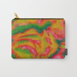 abstract jello, green, red Carry-All Pouch