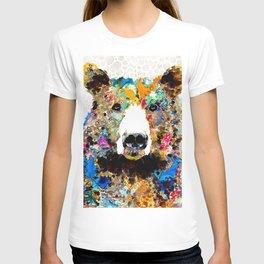 Umm Bearably Good Bear Art by Sharon Cummings T-shirt