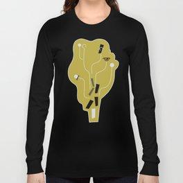 Clueless Bramble [Gold] Long Sleeve T-shirt