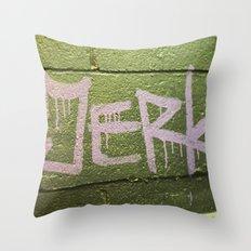 Jerk Throw Pillow