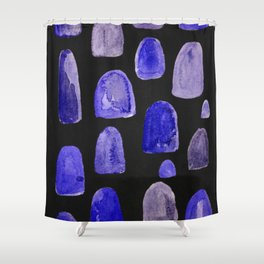 watercolor humps Shower Curtain