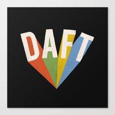 Daft II Canvas Print