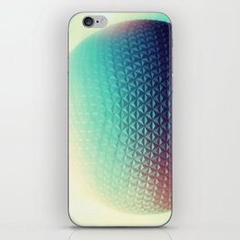Spaceship Earth iPhone Skin