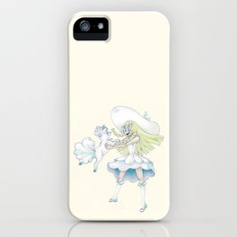 Lillie and Shiron iPhone Case