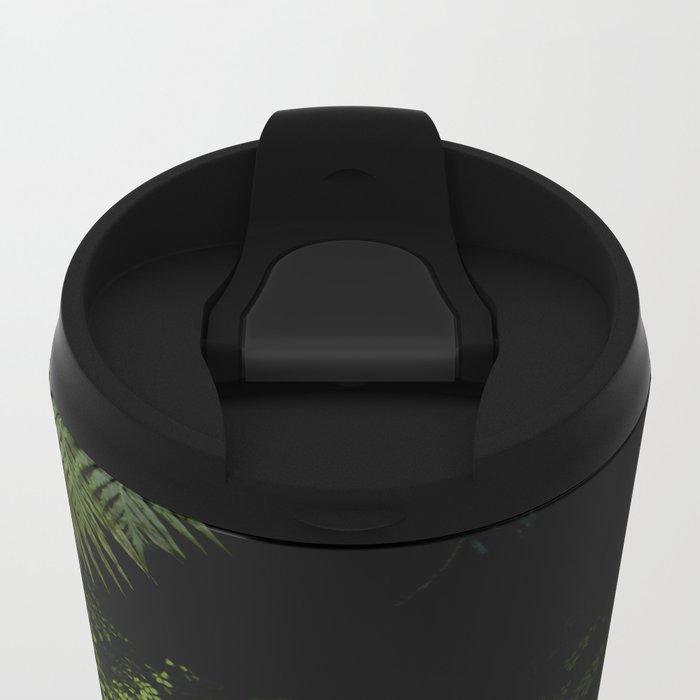 Tropical jungle. Metal Travel Mug