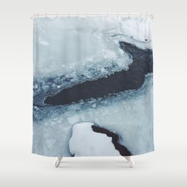 Ice Water Shower Curtain