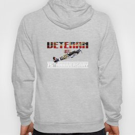 VE Day 75th Anniversary  T-Shirt Hoody