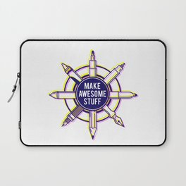 Make awesome stuff Laptop Sleeve
