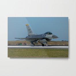 F-16 Fighting Falcon Metal Print