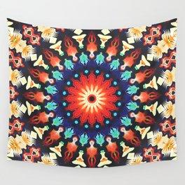 Colorful Mandala Motif Wall Tapestry