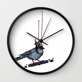Cyanocitta Cristata Wall Clock