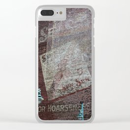 Skylight Music Theatre Clear iPhone Case