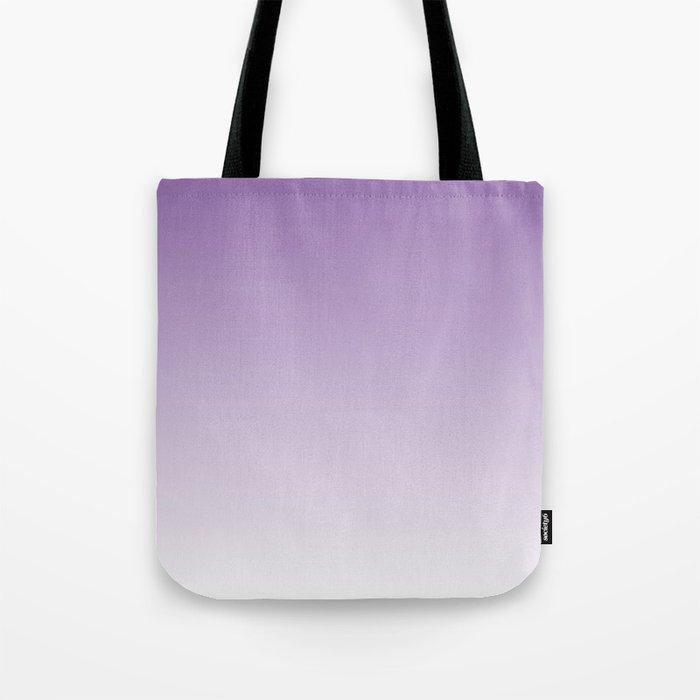 Lavender Ombre Tote Bag