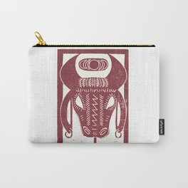Strength (White) Carry-All Pouch