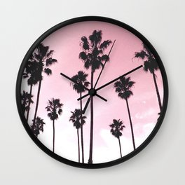 Palms & Sunset Wall Clock