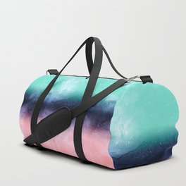 Modern watercolor abstract paint Duffle Bag