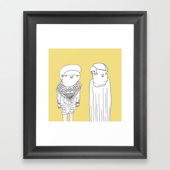 Characters 6 - Jebba Framed Art Print