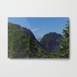 Mountains North of Vancouver, British Columbia Metal Print