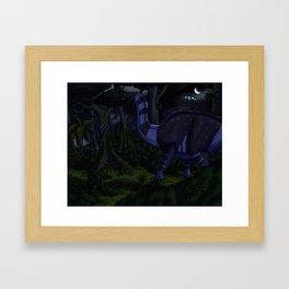 Probing Another World Framed Art Print
