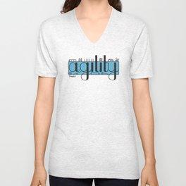 Agility Unisex V-Neck