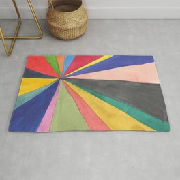 Watercolor Pinwheel Robayre Rug