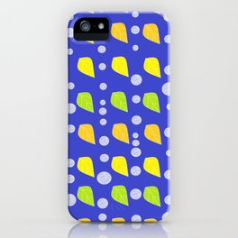 circle leaves iPhone Case