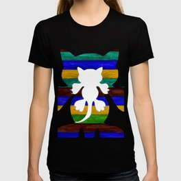 Stylized Cat Silhouette T-shirt