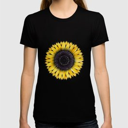 Sunflower Mandala Painting T-shirt