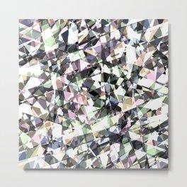 Lazer Diamond 2 Metal Print