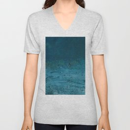 Wind Blowing Sea Unisex V-Neck