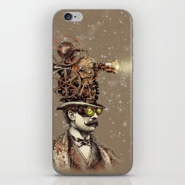 The Projectionist (sepia option) iPhone Skin