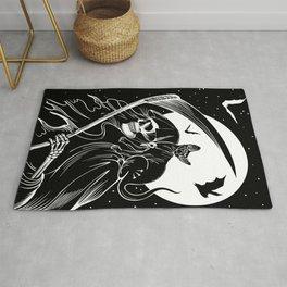 Grim Reaper & Cat Rug
