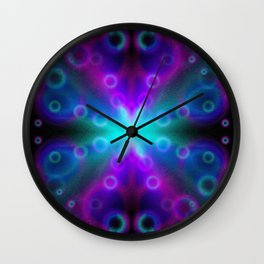 Bubbles Bokeh Effect G123 Wall Clock
