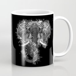 Elephant head drawing Coffee Mug