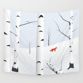 Birches West Wall Tapestry