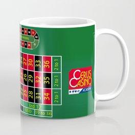 Roulette Table Coffee Mug