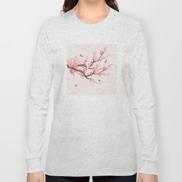 Pink Cherry Blossom Dream Long Sleeve T-shirt