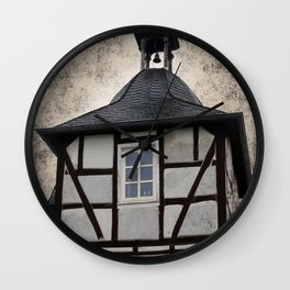 Living in a Tower Wall Clock