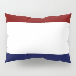 Team Colors 8....Maroon , navy and white Pillow Sham