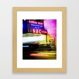 30 ROCK Framed Art Print