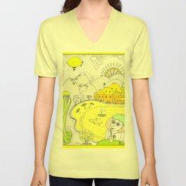 Lemon paradise Unisex V-Neck