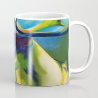 elk Mugs featuring Elk by mynameiselena