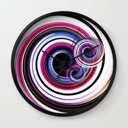 Swirl No. 2 Wall Clock