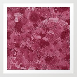 Wine and our other favourite things... Art Print