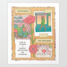 Sagittarius II Art Print