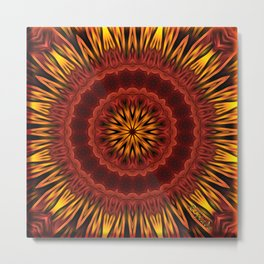 Mandala of Surya the Sun God  Metal Print