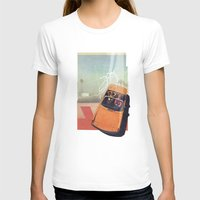 car T-shirts featuring Getaway Car | Collage by Julien Ulvoas